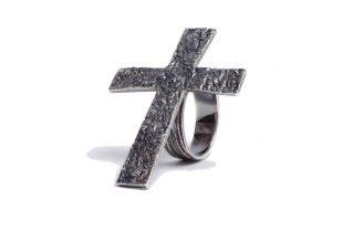 bague croix femme - création bijoi