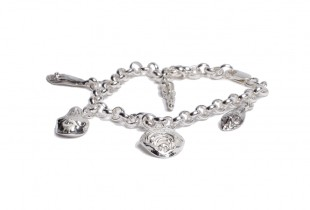 bracelet argent massif femme - création bijoi