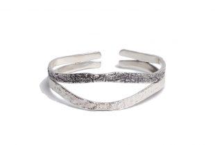 bracelet femme argent massif - création bijoi