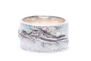 Création bijoi anneau fendu